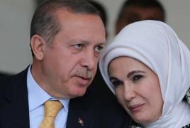 Erdogan's wife tells Aliyev to obtain minefield maps in exchange for PoWs