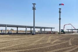 Azerbaijan preparing for first test flight at Fizuli airport on Sept. 5