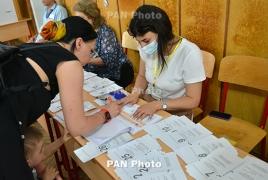 Явка на выборах в Армении по состоянию на 17:00 составила 38.17%