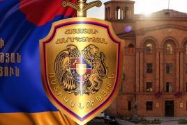 Распространявший антипропагандистские листовки против блока «Армения» явился в полицию