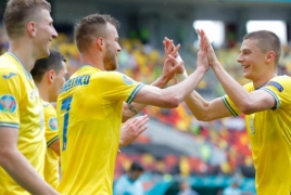 Ukraine advances to UEFA knockout phase for first time ever