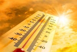 Հուլիսի 9-ին 2-3 աստիճանով կհովանա, 11-13-ին օդի ջերմաստիճանը 3-5 աստիճանով կբարձրանա