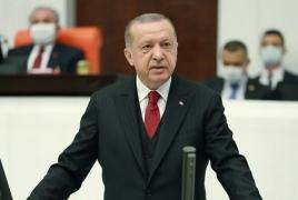 Erdogan: Dancing atop Armenian church in Istanbul is