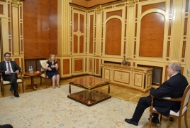 President, MEP discuss regional crisis, Armenia-EU cooperation