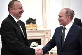 Karabakh: Putin stresses role of compromise at meeting with Aliyev