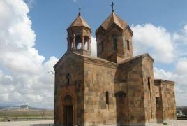Մեծամորցին վնասել է Սբ Ղազար եկեղեցու դուռը, կոտրել ապակին, տակնուվրա արել սպասքը