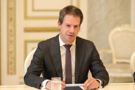 French envoy talks Karabakh status, calls for larger int'l presence
