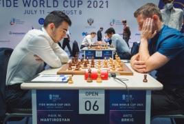 Молодой армянский шахматист вышел в ⅛ финала Кубка мира