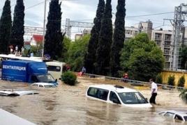 Наводнение в Сочи: Один человек погиб, трое пропали без вести