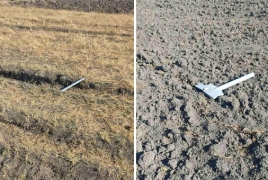 Armenia: Army publishes images of downed Azerbaijani drone