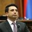 Ալեն Սիմոնյանն ընտրվել է ԱԺ նախագահ