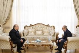 В Армении назначены все министры, кроме главы МИД