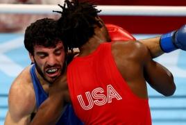 Armenian boxer Hovhannes Bachkov wins bronze at Tokyo Olympics