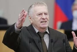 Ժիրինովսկին կպահանջի քրգործ հարուցել Ադրբեջանի նախկին դեսպանի դեմ, որը նրան և ռուսներին «խոզ» է կոչել