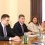 В Армении обсудили углубление сотрудничества в рамках коридора Европа-Кавказ-Азия