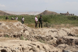 Russian envoy visits hotspot on Armenian-Azerbaijani border