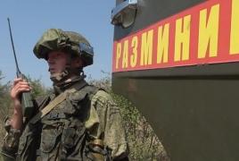 ՌԴ խաղաղապահները սկսել են ականազերծել ԱՀ Կոլխոզաշեն գյուղի տարածքը