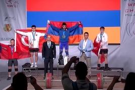 Ծանրորդ Մինասյանը Եվրոպայի չեմպիոն է դարձել՝ հաղթելով թուրք մարզիկներին