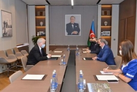 ԵԱՀԿ ՄԽ ռուսաստանցի նոր համանախագահը Բաքվում հանդիպել է Բայրամովի հետ