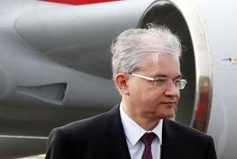 Russia's OSCE Minsk Group co-chair arrives in Armenia