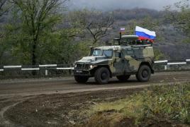 Russian peacekeepers escort 4 Azerbaijani convoys in Karabakh