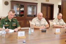 Russia's new Commander of Karabakh peacekeeping forces in Yerevan