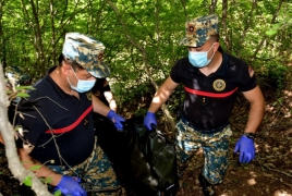 Remains of two Karabakh troops recovered from Hadrut