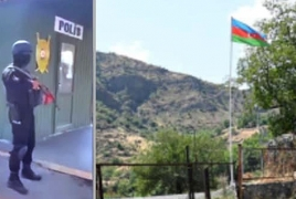 HRD: Azeri police checkpoint, cameras on Armenian road are illegal