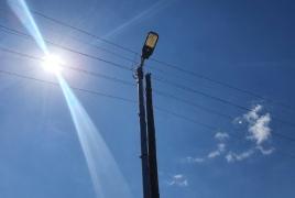Kartchaghbyur village gets a new LED street lighting system