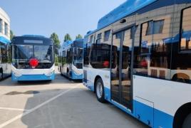 Երևանի 211 հատ նոր ավտոբուսը հոկտեմբերի 10-ին կլինեն Փոթիում