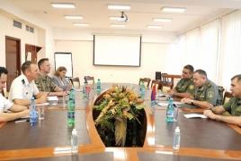 Глава Генштаба ВС РА и военный атташе США выразили готовность развивать армяно-американское военное сотрудничество