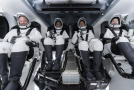 Population of space reaches record-breaking 14 people
