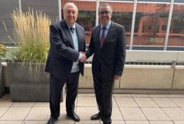 President invites WHO chief to Armenia