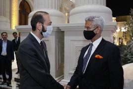Главы МИД Армении и Индии обсудили вопросы региональной безопасности