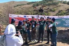 В Армении впервые прошел конкурс беспилотников