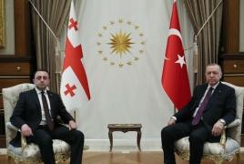 Turkish President, Georgian PM discuss Armenia-Azerbaijan crisis
