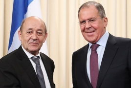 ՌԴ և Ֆրանսիայի ԱԳ նախարարները պատրաստակամ են ԼՂ հարցում աշխատել ԵԱՀԿ ՄԽ շրջանակում