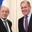 Lavrov, Le Drian agree to work for Karabakh stabilization