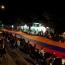 В Степанакерте прошло факельное шествие под названием «Арцах живет»