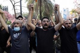 Gunfire rocks Beirut, leaves at least five dead