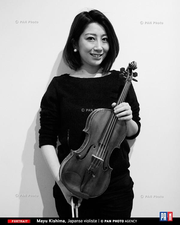 Mayu Kishima, Japanse violiste
