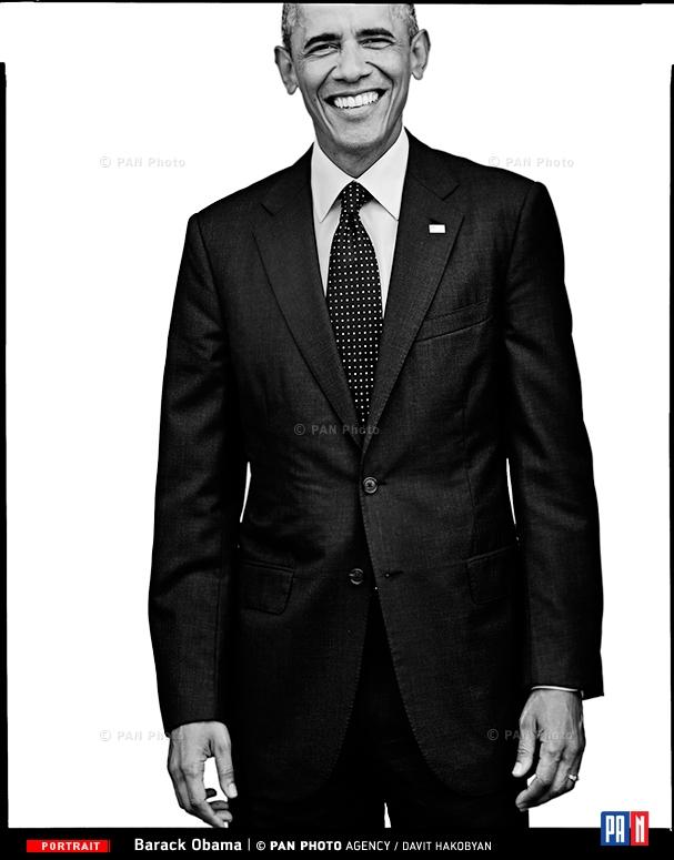 Barak Obama, President of the United States of America