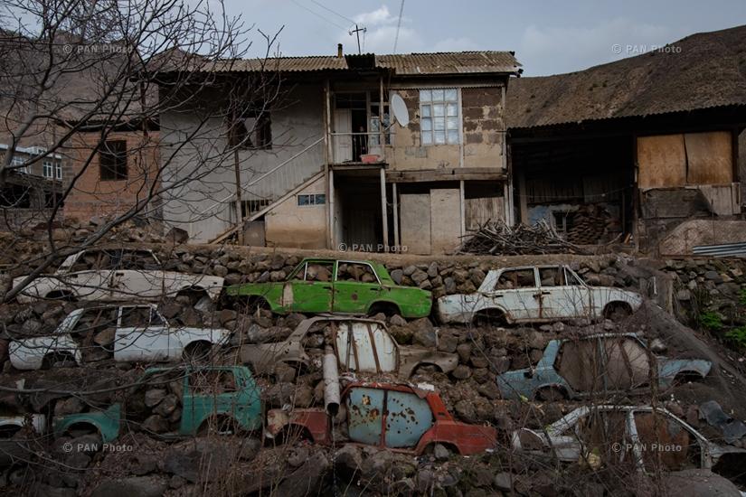 Yeghegis village, Vayots Dzor Province, Armenia