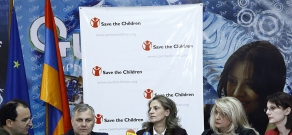 Press conference about children protection issues