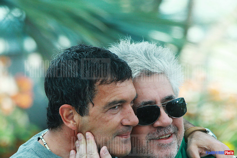 Antonio Banderas and Pedro Almodovar