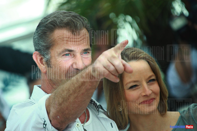 Mel Gibson and Jodie Foster