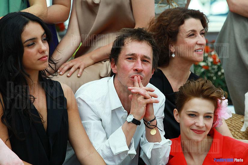 Iliana Zabeth, Bertrand Bonello, Noemie Lvovsky and Celine Sallette