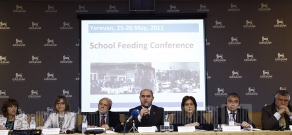 UN World Food Program's School Food project conference