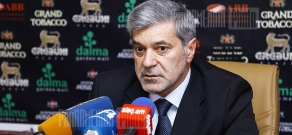 Press conference of Hovhannes Igityan, member of Armenian National Movement board