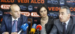 Press conference of economist Tatul Manaseryan and the Chairman of the NA Standing Committee on Social Affairs Hakob Hakobyan